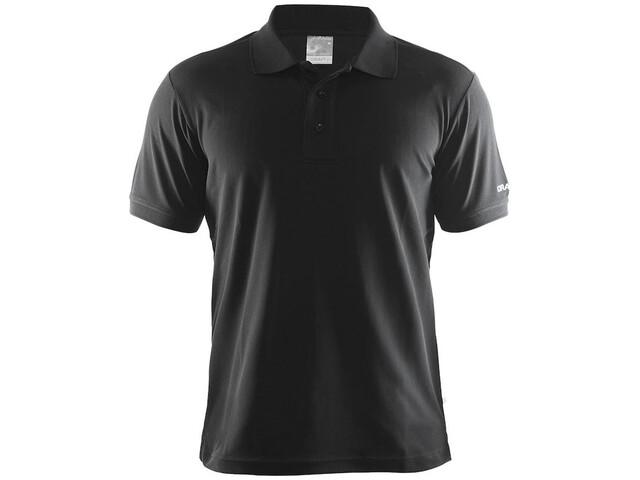 Craft Classic Polo Pique Shirt Men black